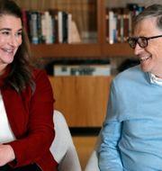 Melinda och Bill i februari 2019.  Elaine Thompson / TT NYHETSBYRÅN