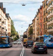 Hornsgatan i Stockholm, en av stadens miljözoner. Helena Landstedt/TT / TT NYHETSBYRÅN