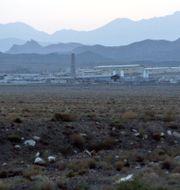 Kärnenergianläggning i Natanz.  HASAN SARBAKHSHIAN / TT NYHETSBYRÅN