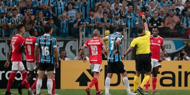 Copa Libertadores mötte Gremio 12 mars. Liamara Polli / TT NYHETSBYRÅN