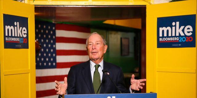 Michael Bloomberg.  Rick Scuteri / TT NYHETSBYRÅN