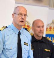 Mats Löfving på en pressträff i juni 2020. Pontus Lundahl/TT / TT NYHETSBYRÅN