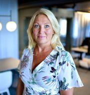 Johanna Jaara Åstrand. Anders Wiklund/TT / TT NYHETSBYRÅN