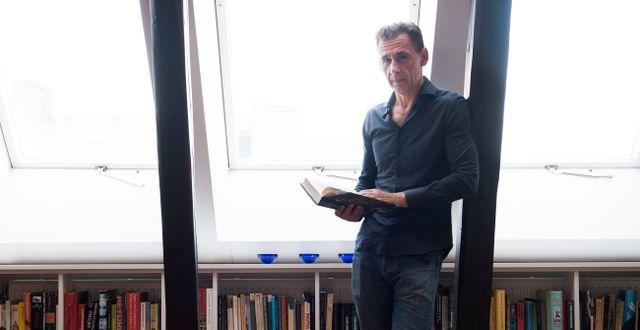 David Lagercrantz. Fredrik Sandberg/TT / TT NYHETSBYRÅN