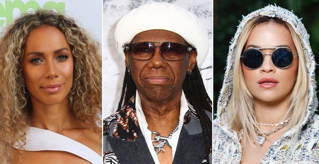 Leona Lewis/Nile Rodgers/Rita Ora. TT