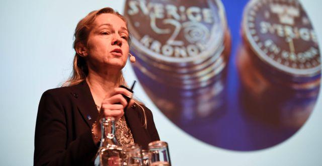 Illustrationsbild. Vice Riksbankschefen Cecilia Skingsley. Marko Sävälää/TT / TT NYHETSBYRÅN