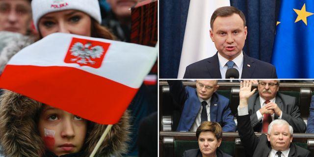 Polen nara slarva bort seger