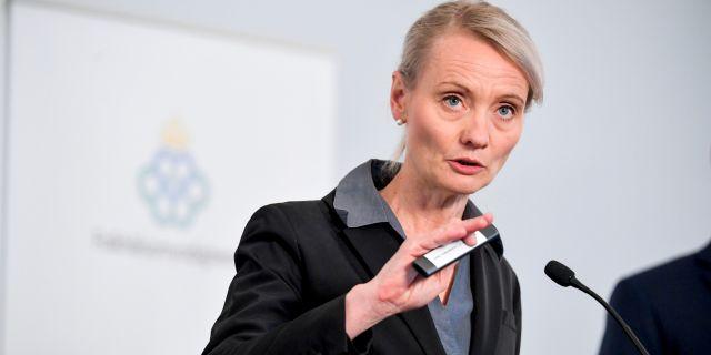 Karin Tegmark Wisell. Henrik Montgomery/TT / TT NYHETSBYRÅN