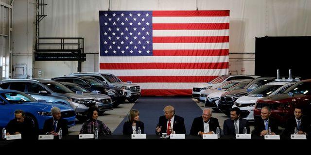 President Trump vill höja biltullarna med så mycket som 23 procent TT