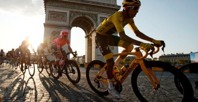 Tour de France i Paris 2019/Arkivbild.  Gonzalo Fuentes / TT NYHETSBYRÅN