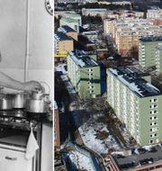 Arkivbild. En kvinna i ett kök med sina barn./Illustrationsbild Stockholmsförorten Rinkeby.  TT