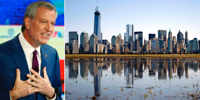 Bill de Blasio och New York. TT