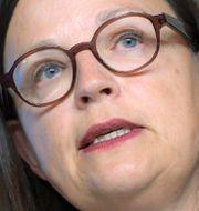 Utbildningsminister Anna Ekström (S).  Maja Suslin/TT / TT NYHETSBYRÅN