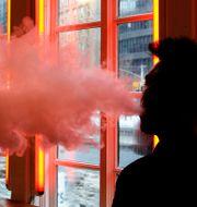E-cigarett. Frank Franklin II / TT NYHETSBYRÅN