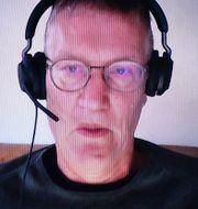 Anders Tegnell/bild på smittspridningen i Europa vecka 46 och 47. TT/ECDC