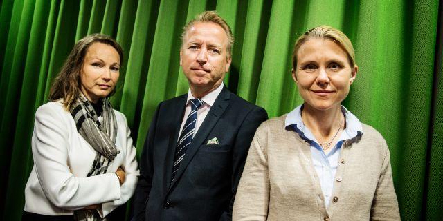 Jonas Olavi, i mitten.  Emma-Sofia Olsson/SvD/TT / TT NYHETSBYRÅN