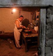 Zebulon Simentov i sitt hem i Kabul. Arkivbild från 2009. David Goldman / TT NYHETSBYRÅN