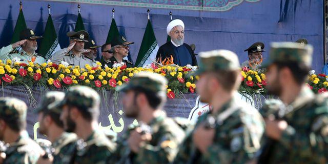 Iran fryser bbc medarbetares tillgangar
