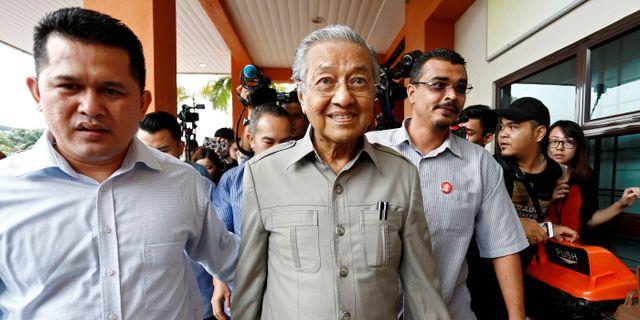 Mahathir Mohamad.  Lai Seng Sin / TT NYHETSBYRÅN