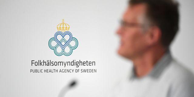 Folkhälsomyndigheten. Fredrik Sandberg/TT / TT NYHETSBYRÅN