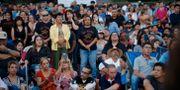 En sammanslutning för att hedra minnet av de som dödades i El Paso.  John Locher / TT NYHETSBYRÅN/ NTB Scanpix