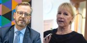 Damberg och Wallström. TT