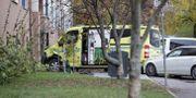 Ambulansen. Stian Lysberg Solum / TT NYHETSBYRÅN