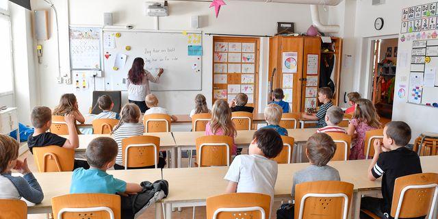 Den som vill bli lärare ska genomgå lämplighetsprov, om regeringen får som den vill. Arkivbild. Jonas Ekströmer/TT / TT NYHETSBYRÅN