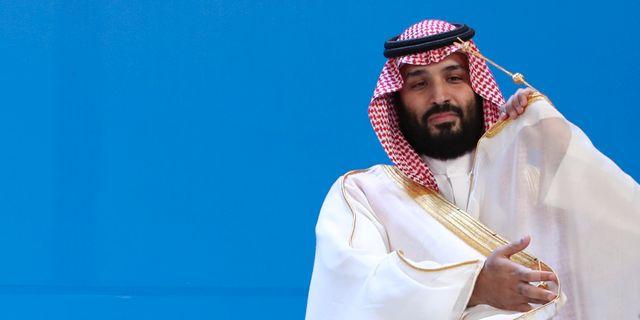 Kronprinsen Mohammed bin Salman. Arkivbild. Ricardo Mazalan / TT NYHETSBYRÅN
