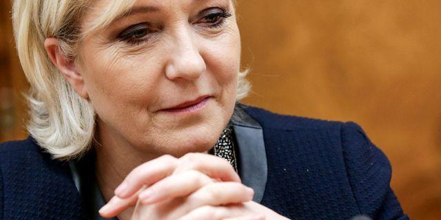 Nationella Frontens partiledare Marine Le Pen. Anna Isakova / TT / NTB Scanpix