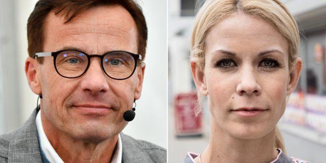 Ulf Kristersson (M)/Anna König Jerlmyr (M). TT