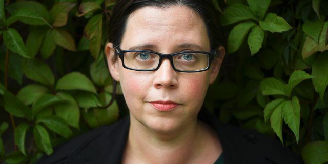 Författaren Elise Karlsson. Fredrik Sandberg/TT / TT NYHETSBYRÅN