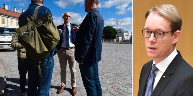 Larsson, Billström. Arkivbilder. TT