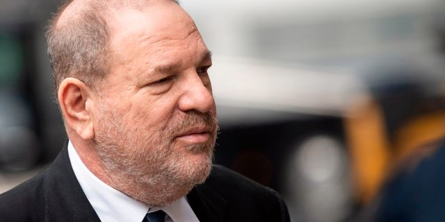 Harvey Weinstein. JOHANNES EISELE / AFP