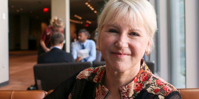 Margot Wallström John Alexander Sahlin /TT / TT NYHETSBYRÅN