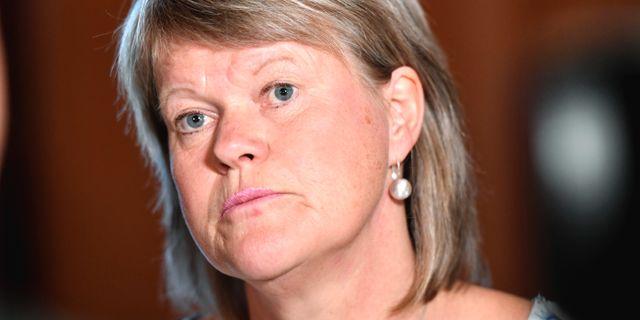 Ulla Andersson, arkivbild. Stina Stjernkvist/TT / TT NYHETSBYRÅN