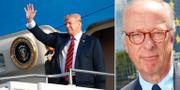 Donald Trump/Gunnar Hökmark. TT
