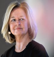 Arkivbild: Allison Kirkby, vd för Telia.  Janerik Henriksson/TT / TT NYHETSBYRÅN