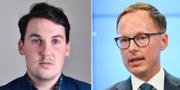 Joar Forssell och Mats Persson, Liberalerna. TT