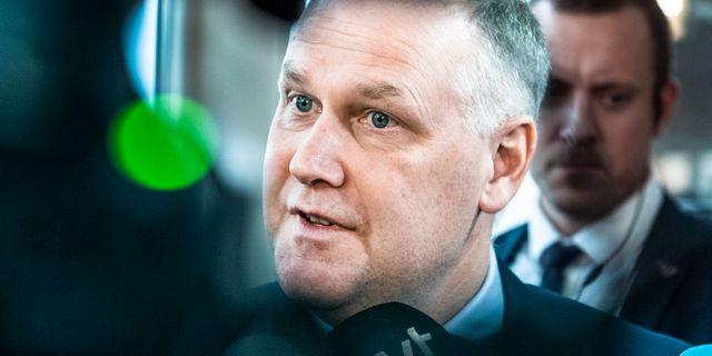 Jonas Sjöstedt. Lars Pehrson/SvD/TT / TT NYHETSBYRÅN