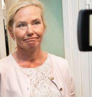 Frågorna ställdes bland annat samtidigt som Anna Johansson avgick som infrastrukturminister. Ari Luostarinen / TT NYHETSBYRÅN