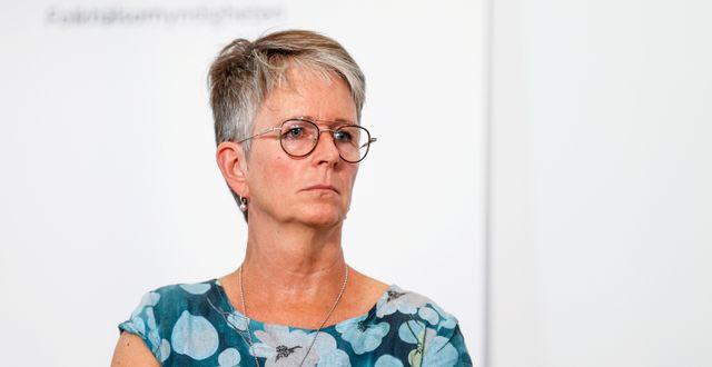 Helena Leufstadius. Nils Petter Nilsson/TT / TT NYHETSBYRÅN