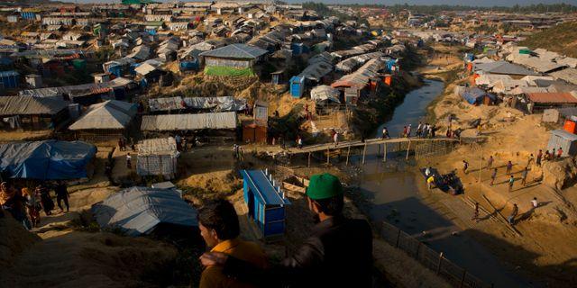Hundratusentals rohingyer på flykt lever i flyktingläger i Bangladesh Manish Swarup / TT / NTB Scanpix