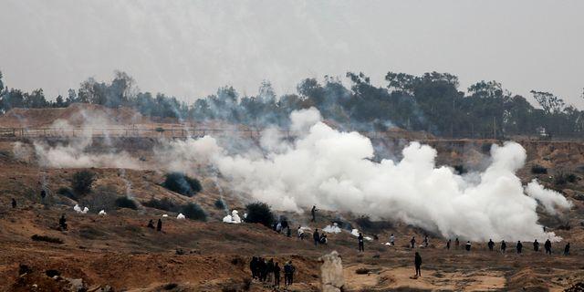 Sammandrabbningar mellan israeler och palestinier. Adel Hana / TT / NTB Scanpix