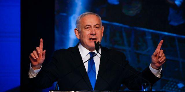 Benjamin Netanyahu Ariel Schalit / TT NYHETSBYRÅN