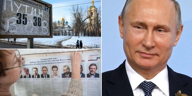 Vallokalerna oppna i hela ryssland