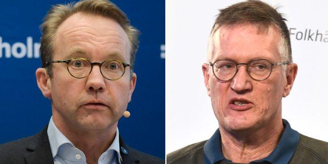Björn Eriksson hälso- och sjukvårdsdirektör på Region Stockholm/Anders T TT
