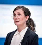 Märta Stenevi.  Jessica Gow/TT / TT NYHETSBYRÅN