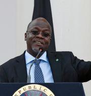Tanzanias president John Magufuli. Thomas Mukoya / TT NYHETSBYRÅN