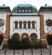 Synagogan i Malmö / davidsstjärna. TT